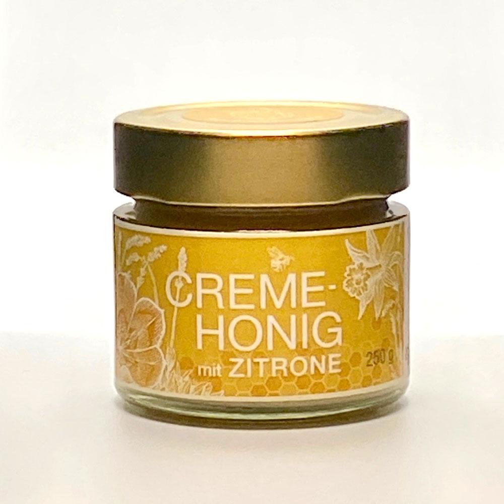 Creme Honig mit Zitrone 250g