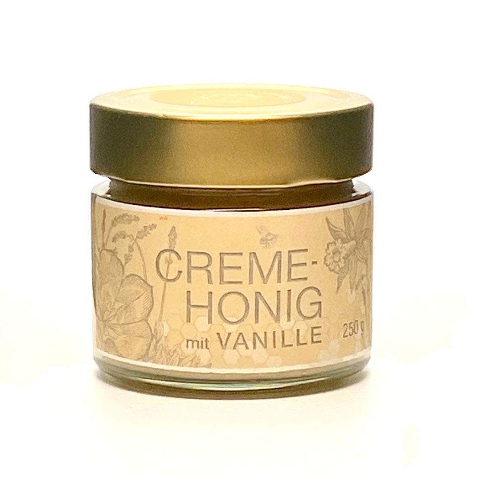 Creme Honig mit Vanille 250g